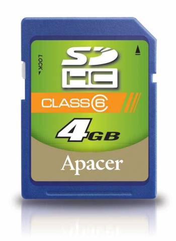 Apacer SDHC Class 6 Card