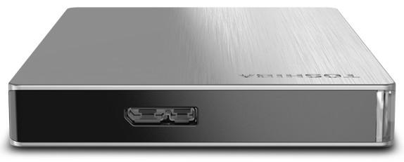 Toshiba Canvio Slim II - новое поколение алюминиевых жестких дисков