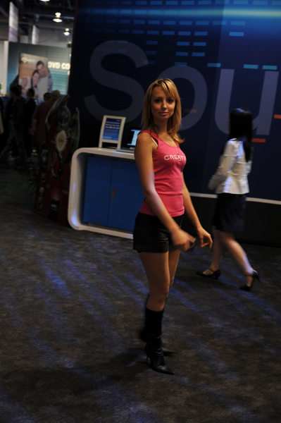 CES'09 Girl