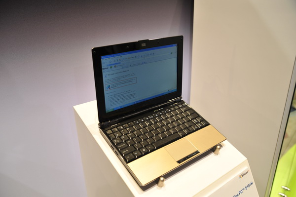 CES'09 ASUS Eee PC S101H