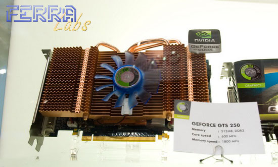 Point of View GeForce  GTS 250