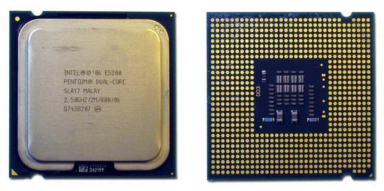 Core 2 Duo E5200 собственной персоной