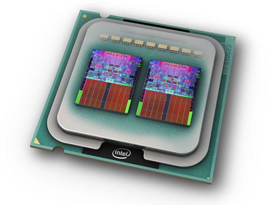 Core 2 Quad и кристалл Core i7. Четырехъядерная архитектура вместо совмещенных в одном корпусе двухъядерников