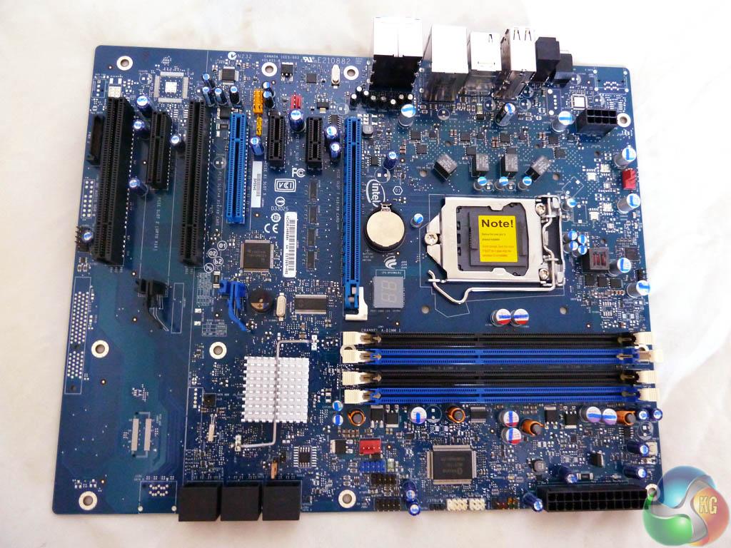 Материнская плата Intel DP55WG