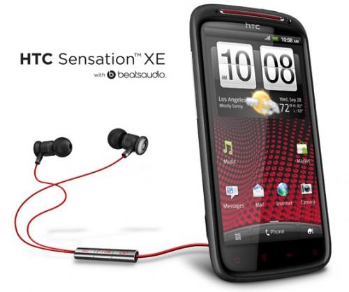 HTC Sensation XE  Beats Audio