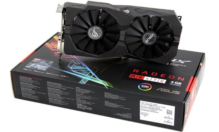 Картинки по запросу Asus RX 470 Strix 4GB