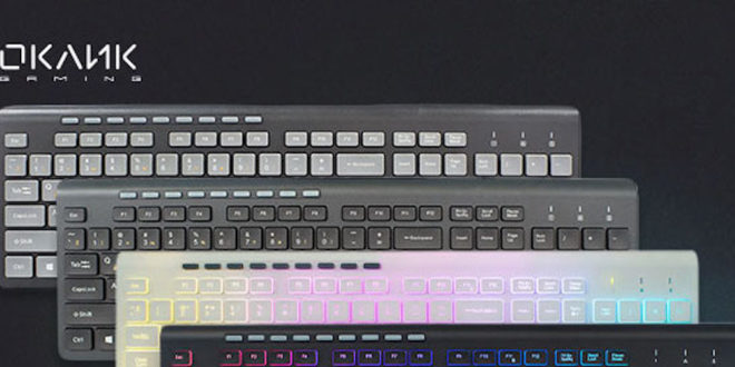 OKLICK представила <b>клавиатуры OKLICK 480M</b> и OKLICK 490ML ...