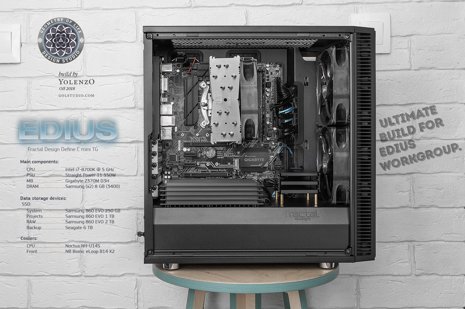 Собираем компьютер EDIUS