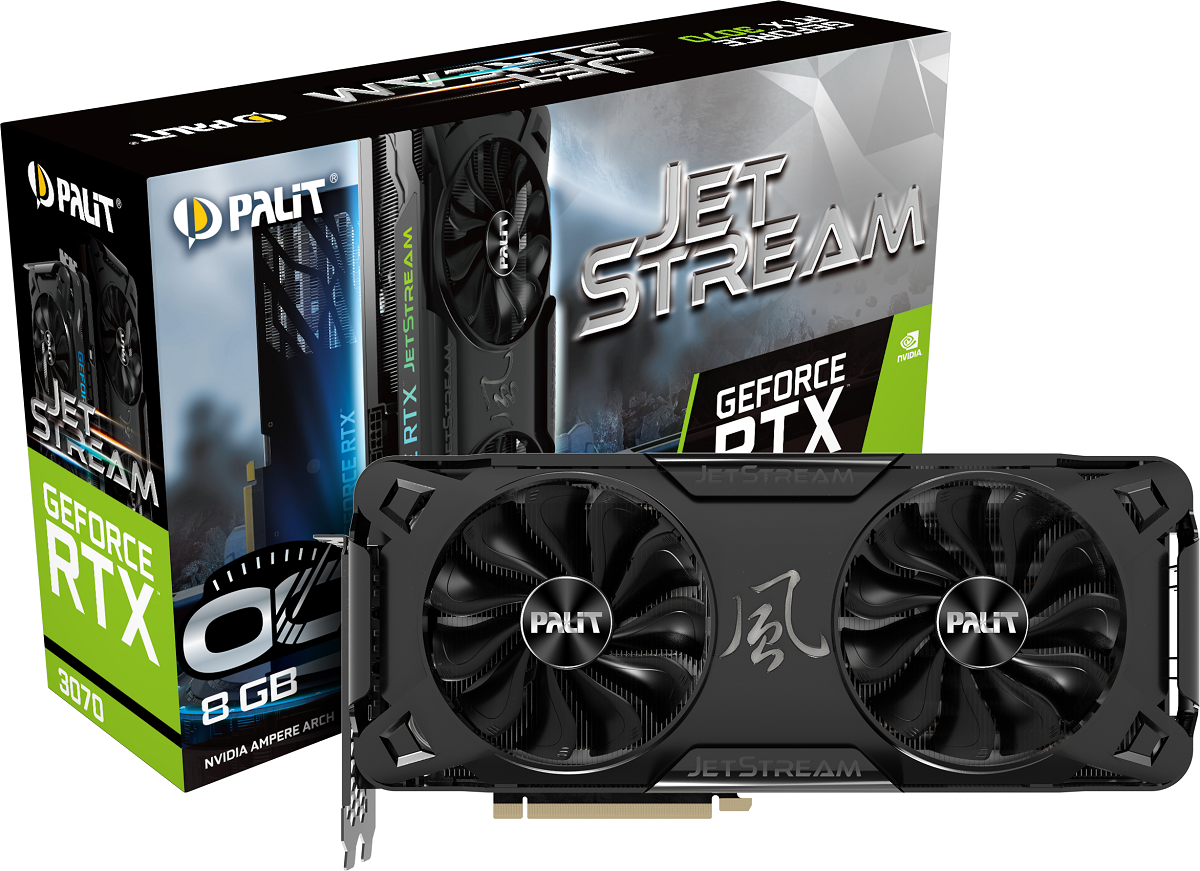 Серия видеокарт GeForce RTX 30 JetStream