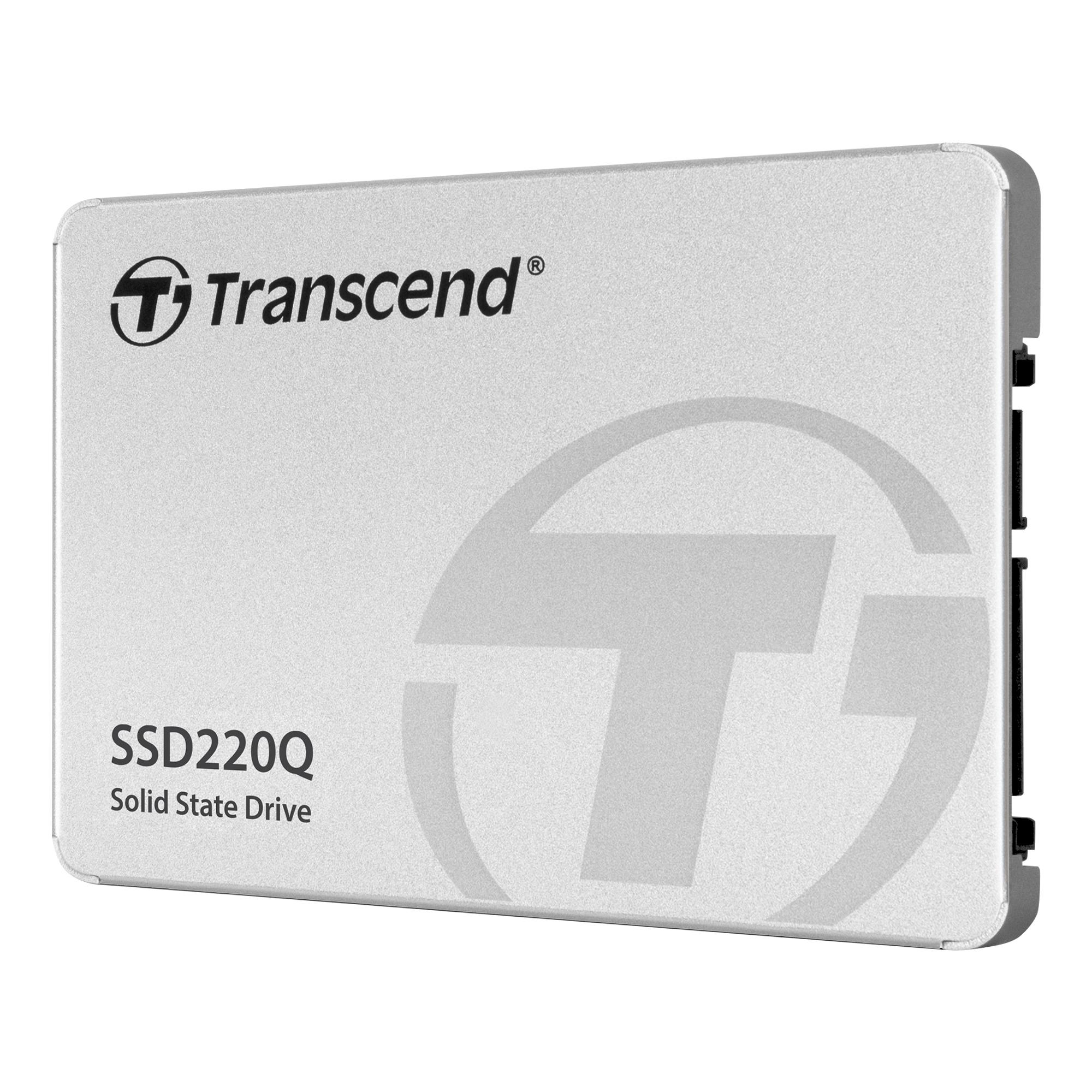 Твердотельный накопитель SSD220Q от Transcend