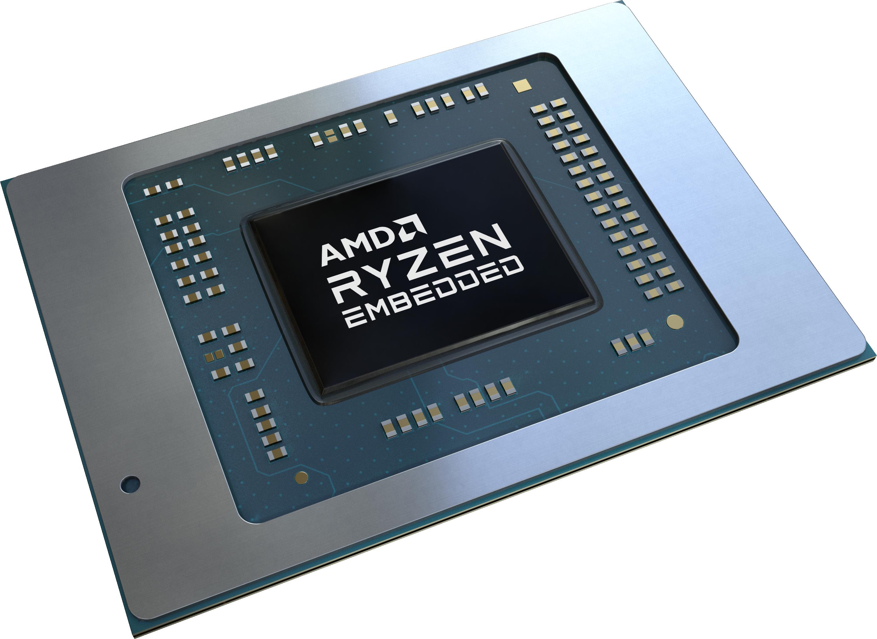 AMD представила встраиваемые процессоры AMD Ryzen серии V2000