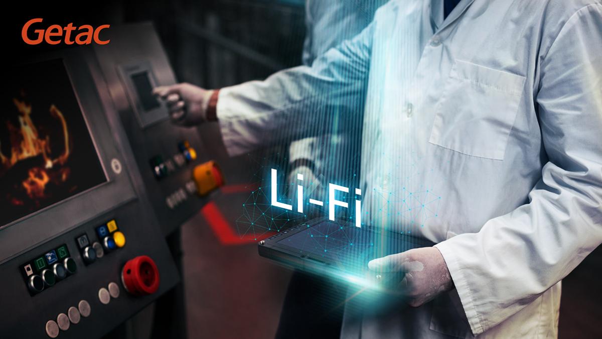 Компания Getac представила интегрированную технологию Li-Fi