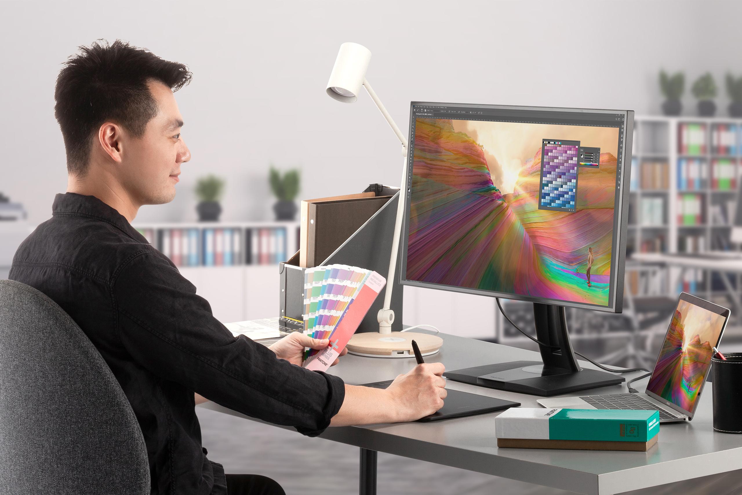 ViewSonic представила серию мониторов ColorPro VP68a