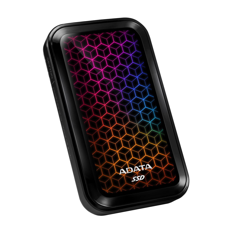 Внешний SSD ADATA с RGB