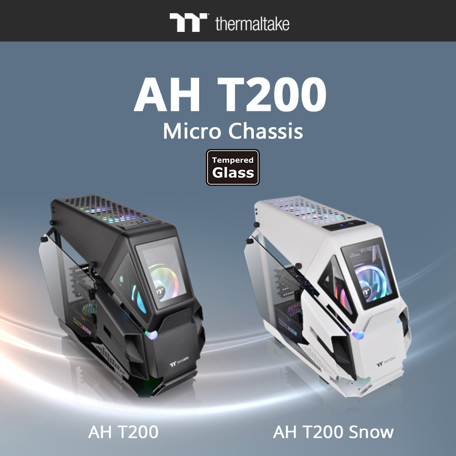 Корпуса Thermaltake AH T200 Micro Chassis