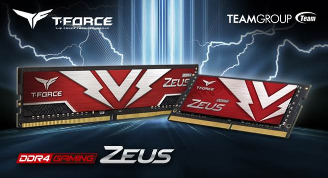 Игровая память серии ZEUS от TEAMGROUP