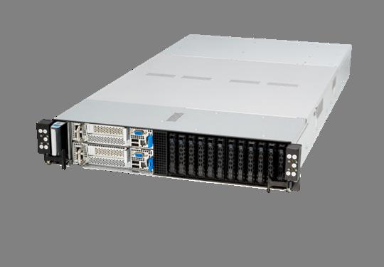 ASUS представила первый в мире сервер высокой плотности форм-фактора 2U