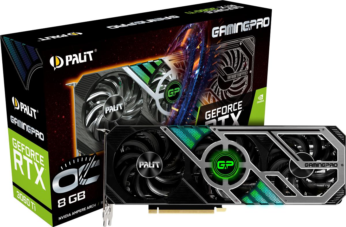 Palit представила GeForce RTX 3060 Ti серий GamingPro и Dual