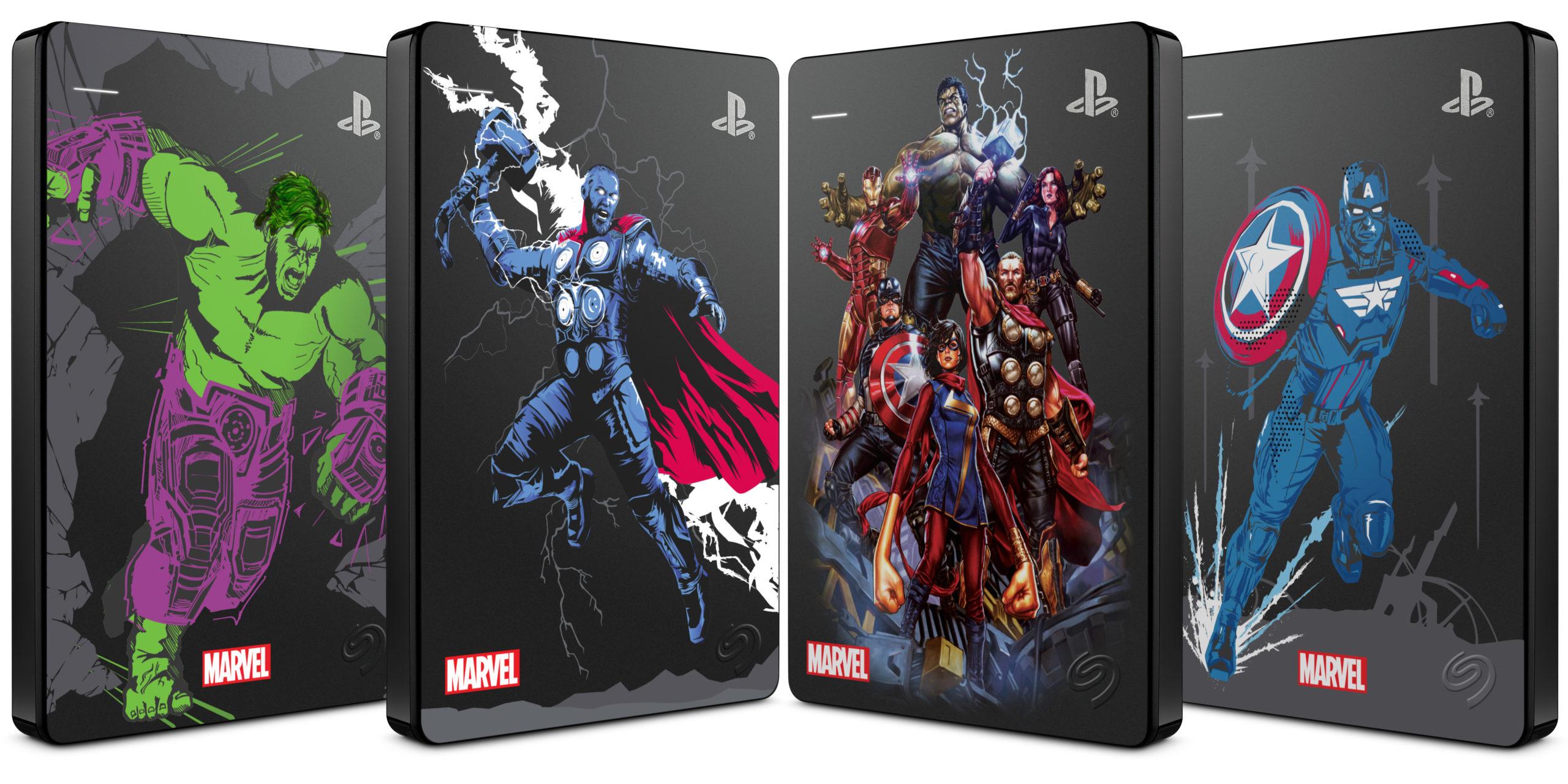 Seagate представила диск Marvel для PS4