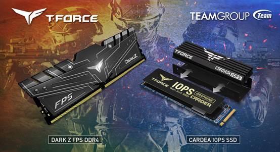 TEAMGROUP представила геймерскую память DARK Z FPS и геймерский накопитель Cardea IOPS PCIe SSD