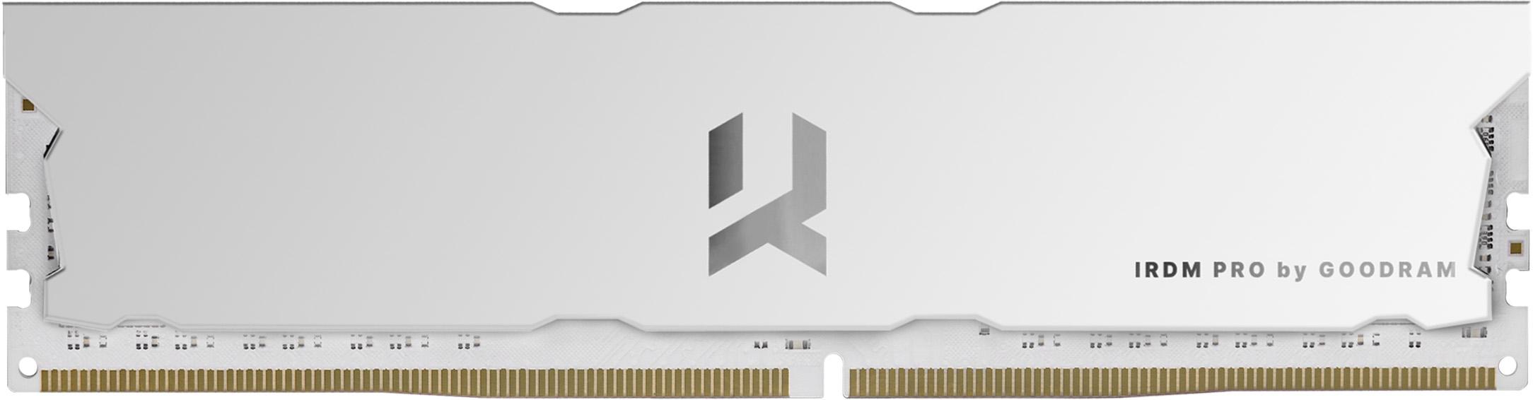 Модули памяти GOODRAM 4000МГц в белом цвете
