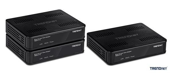 Роутеры MoCA 2.0 Ethernet Over Coax от TRENDnet