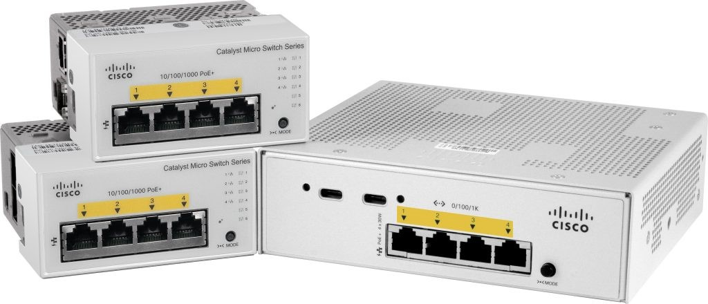 Микрокоммутаторы Cisco Catalyst Micro