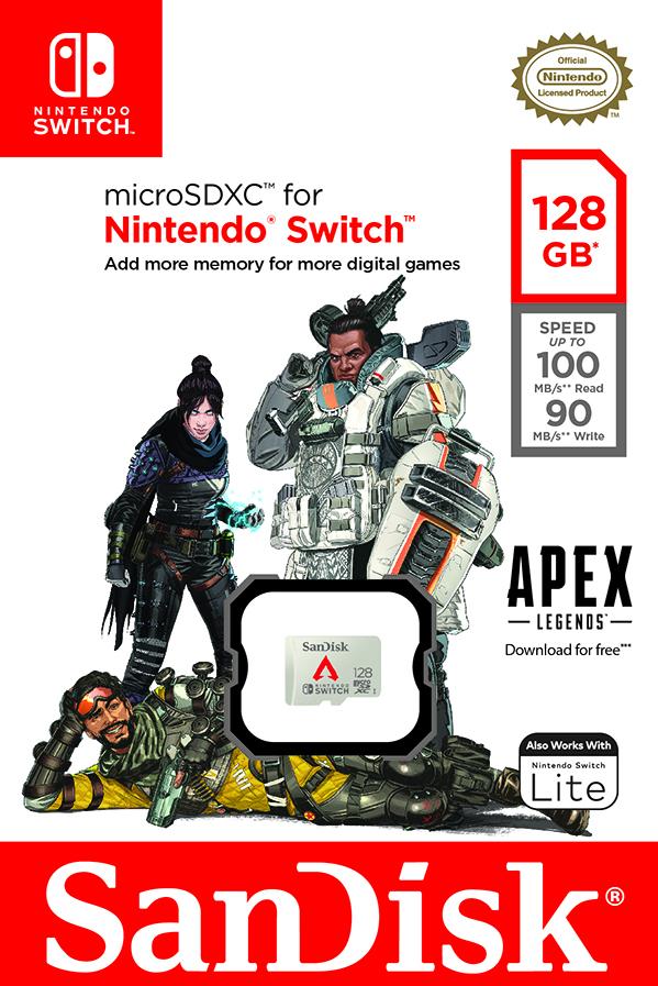 Western Digital представила новую карту памяти для Nintendo Switch