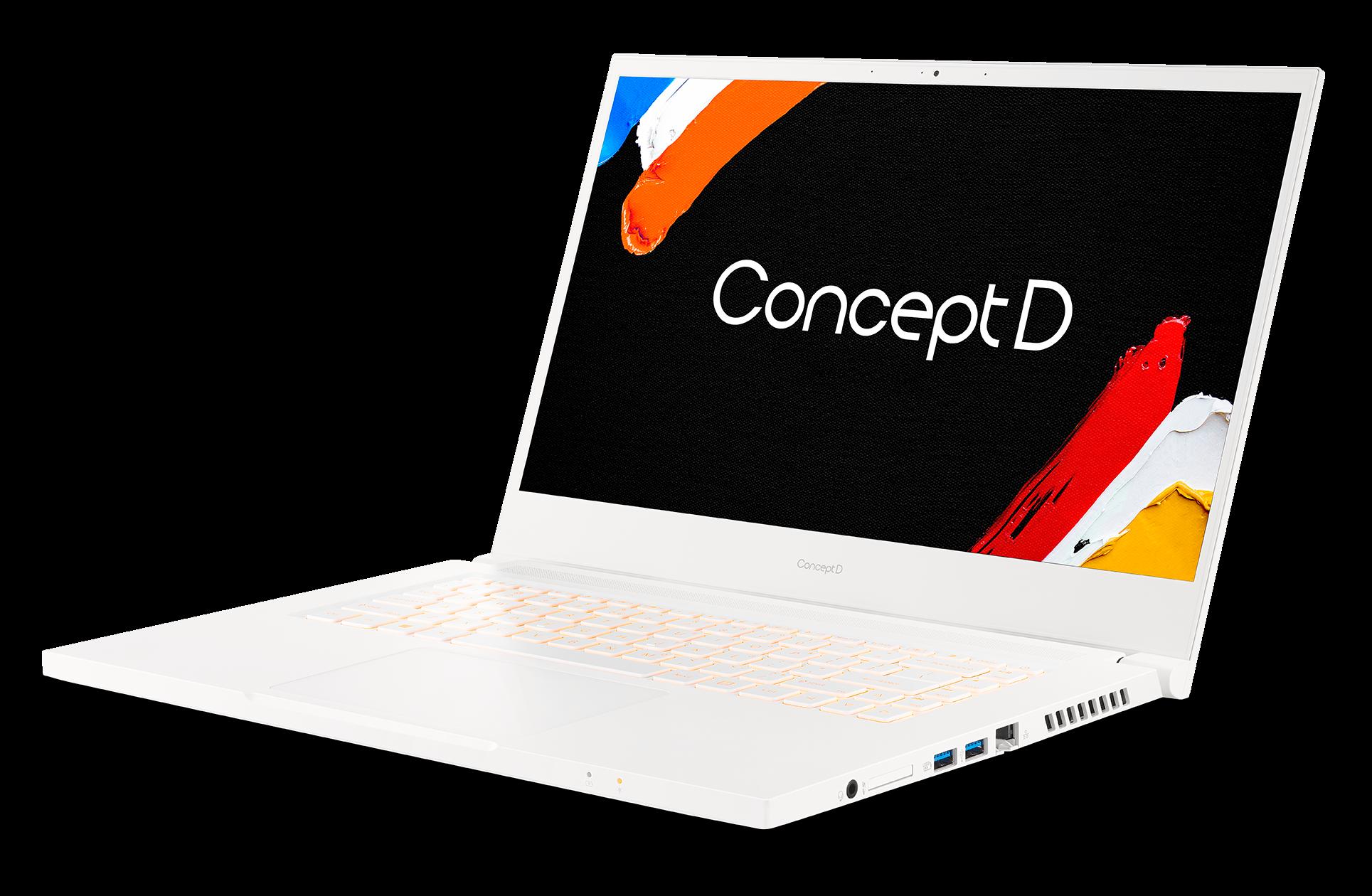 Acer представила новые модели ноутбуков ConceptD 3
