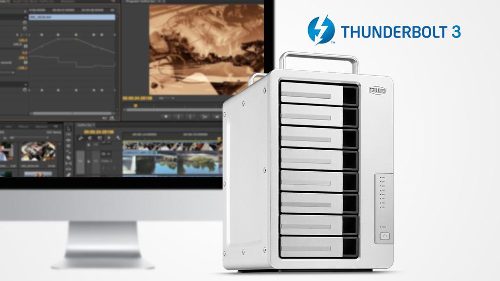 Дисковый массив D8 Thunderbolt от TerraMaster