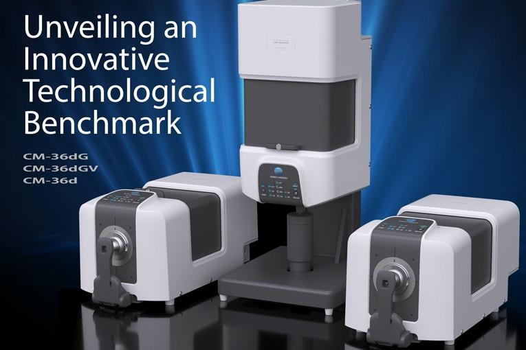 Konica Minolta представила серию настольных спектрофотометров CM-36dG