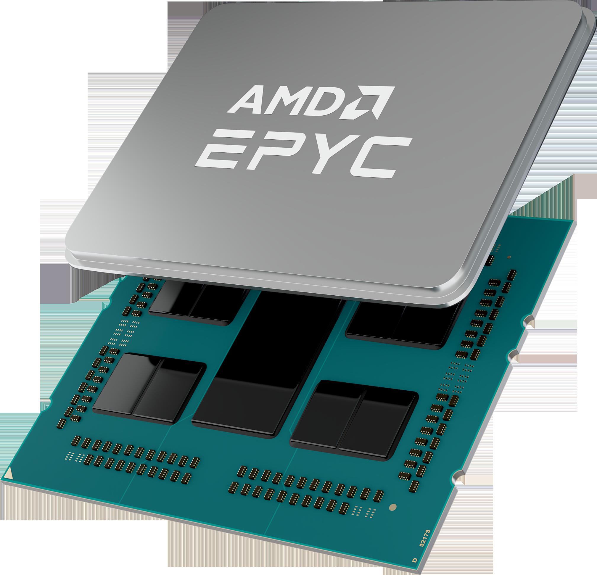 Процессор AMD EPYC 7003 серии одобрен ведущими отраслевыми партнерами
