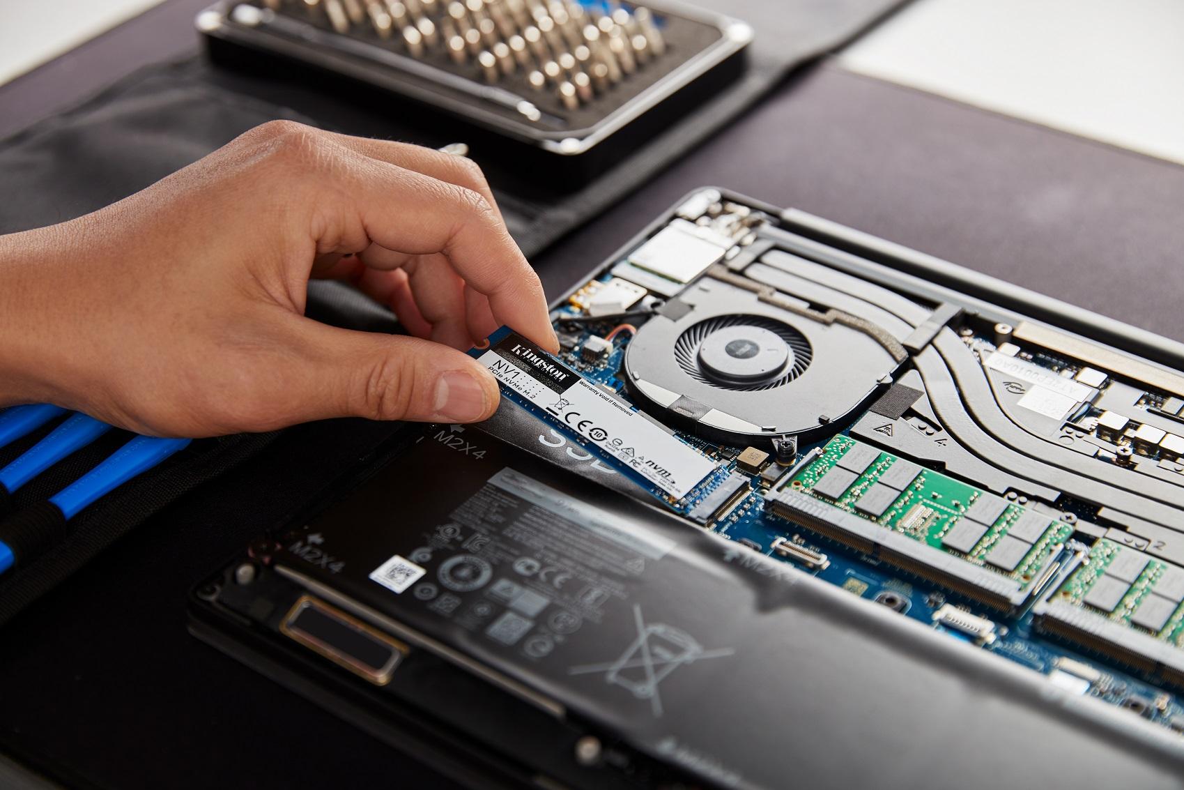 Новый твердотельный накопитель NVMe PCIe от Kingston