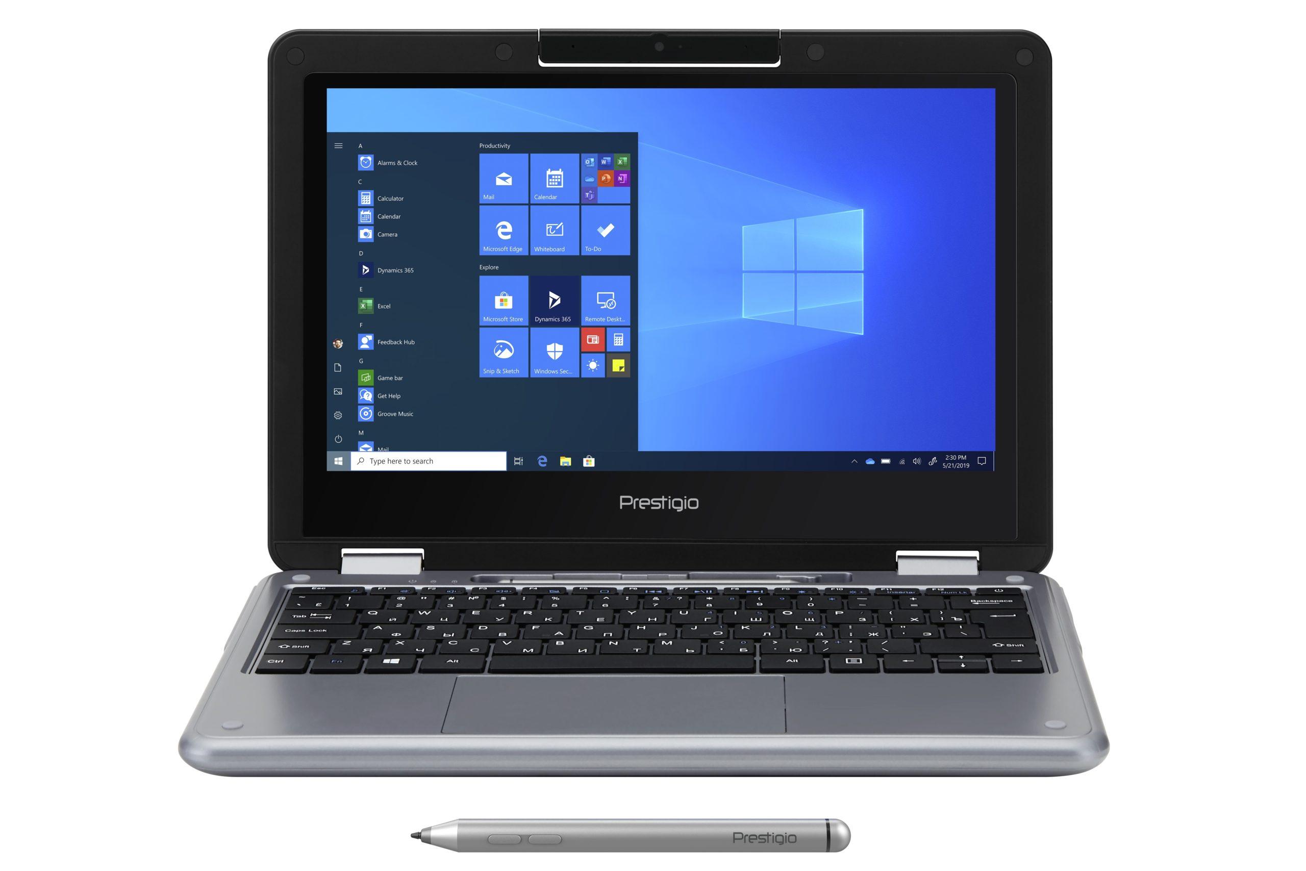 Prestigio представила ноутбук трансформер Ecliptica 116 C3