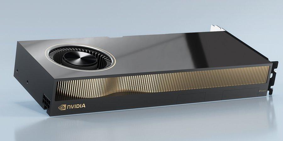 Видеокарта NVIDIA RTX A6000