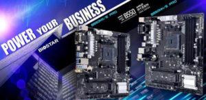 BIOSTAR представила материнские платы B550MX/E PRO и B550MH/E PRO