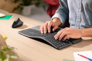 Logitech представляет новую эргономичную клавиатуру ERGO K860
