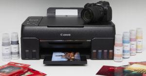 Новые струйные фотопринтеры Canon