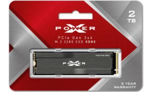 Silicon Power представила твердотельные накопители XD80 с интерфейсом PCIe Gen3x4