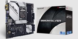 BIOSTAR представляет материнскую плату B560M-SILVER для работы с процессорами Intel 11-го поколения