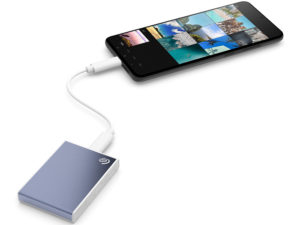 Seagate представляет внешний твёрдый накопитель One Touch SSD