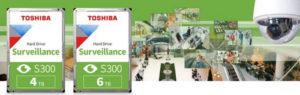 Компания Toshiba выпустила два новых HDD в линейке S300, предназначенных для систем видеонаблюдения