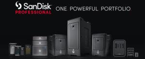 Western Digital запускает новый бренд — Sandisk Professional