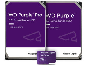 Western Digital расширяет ассортимент линейки WD Purple Pro