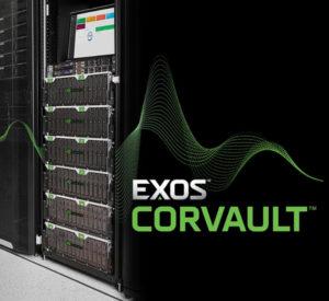 Seagate представила интеллектуальную систему хранения Exos CORVAULT