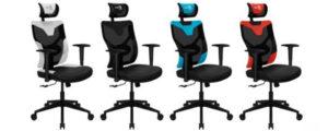 Компания AeroCool представила в России новые игровые кресла Guardian и Admiral
