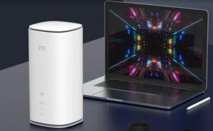 ZTE представляет роутер третьего поколения 5G Indoor CPE MC8020