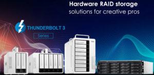 TerraMaster представила обновлённый аппаратный RAID для всей серии Thunderbolt 3
