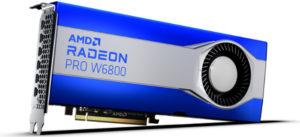 AMD представляет графические решения для рабочих станций серии Radeon PRO W6000