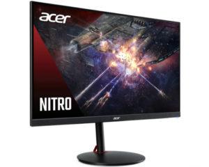 Acer объявила о выходе на российский рынок супербыстрого игрового монитора Nitro XV252QF